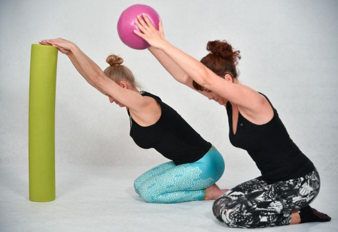 Pilates, joga