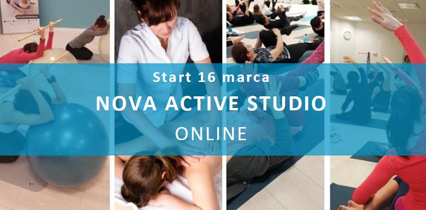 Nova Active Studio – treningi online