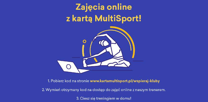 Zajęcia on-line z kartą MultiSport